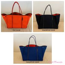 State of Escape Collaboration A4 2WAY Plain Totes
