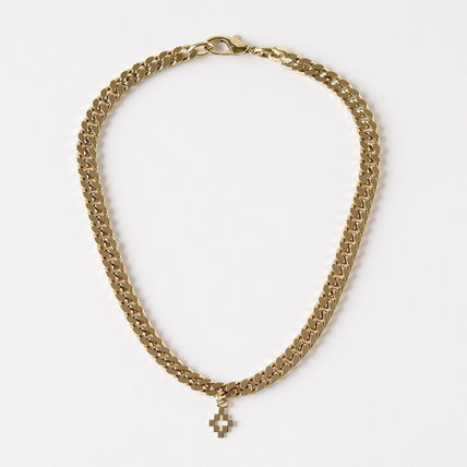 Unisex Street Style Metal Silver Necklaces & Chokers