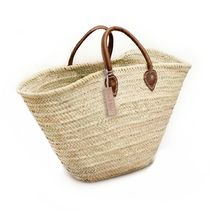 French Baskets Plain Straw Bags