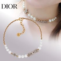 Christian Dior JADIOR Costume Jewelry Star Casual Style Chain Party Style