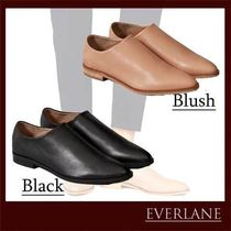 Everlane Plain Leather Office Style Formal Style