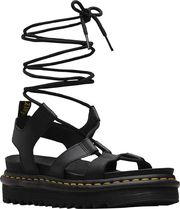 Dr Martens Open Toe Plain Leather Sandals Sandal