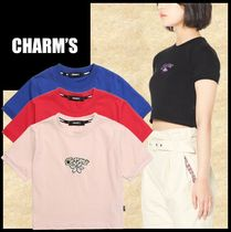 Charm's Street Style Short Sleeves T-Shirts