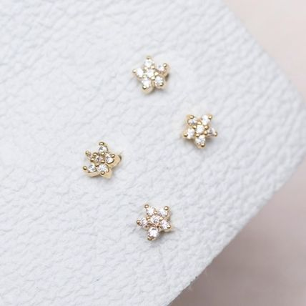 Star Party Style 18K Gold Office Style Elegant Style