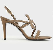 Charles&Keith Casual Style Plain Party Style Office Style Elegant Style