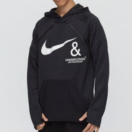 Pullovers Street Style Collaboration Long Sleeves Logo