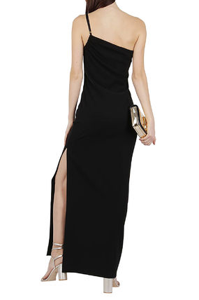 Plain Long Elegant Style Dresses