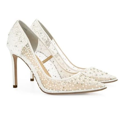 Silk Handmade With Jewels Bridal Shoes