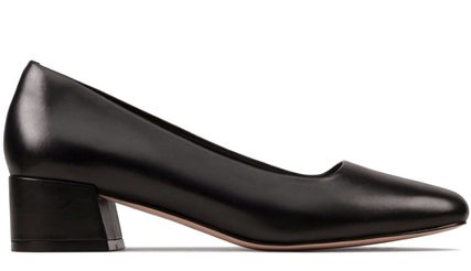 Clarks Leather Party Style Office Style Elegant Style Formal Style