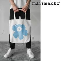 marimekko Kioski Flower Patterns Casual Style Unisex Canvas Street Style A4