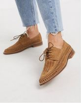 ASOS Round Toe Casual Style Suede Formal Style