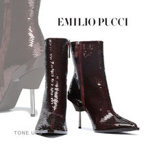 Emilio Pucci Square Toe Party Style Elegant Style Formal Style