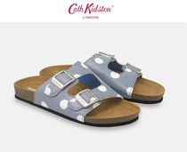 Cath Kidston Dots Open Toe Casual Style Slippers Slip-On Shoes