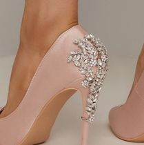 Chi Chi London Plain Pin Heels Party Style With Jewels Elegant Style