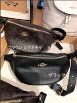 Coach SIGNATURE Casual Style Hip Packs