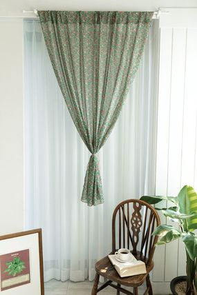 Flower Patterns Curtains