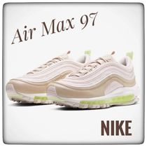 Nike AIR MAX 97 Rubber Sole Casual Style Unisex Oversized Logo