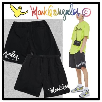 Mark Gonzales Street Style Shorts