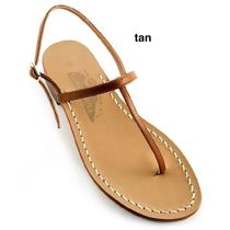 Ron Herman Casual Style Leather Handmade Elegant Style Sandals