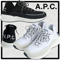 A.P.C. Casual Style Street Style Low-Top Sneakers