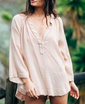 Ron Herman Casual Style Linen Elegant Style Shirts & Blouses