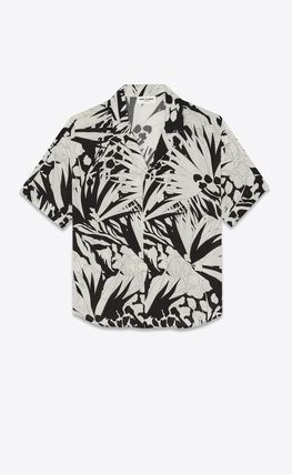 Saint Laurent Shirts Button-down Short Sleeves Luxury Shirts 2