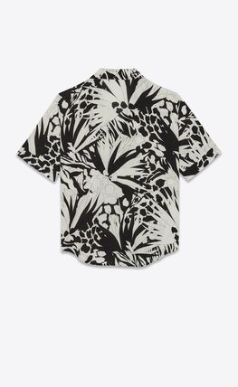 Saint Laurent Shirts Luxury Button-down Short Sleeves Shirts 3