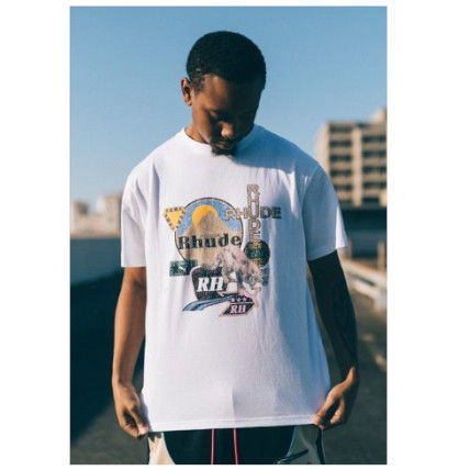 Pullovers Street Style Cotton Logo T-Shirts