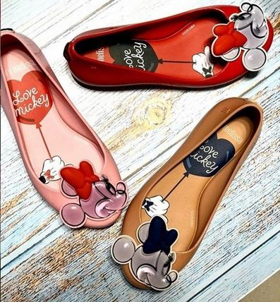 Melissa Collaboration Kids Girl Ballet Flats