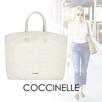 COCCINELLE A4 2WAY Leather Handbags
