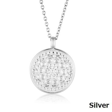 Casual Style Coin Chain Party Style Silver Office Style