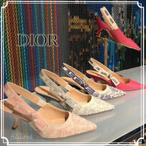 Christian Dior JADIOR Casual Style Party Style Elegant Style Logo Pumps & Mules