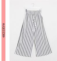ASOS Stripes Casual Style Long Office Style Elegant Style
