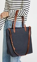 Madewell Casual Style Canvas A4 2WAY Plain Office Style Elegant Style