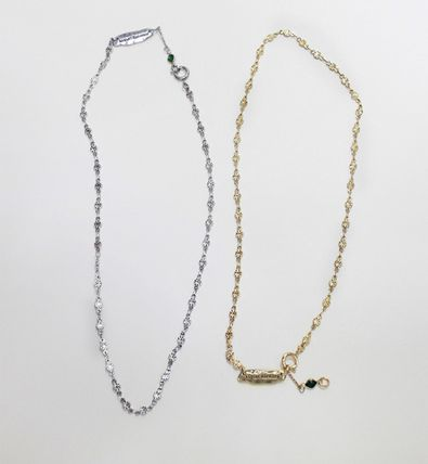 Casual Style Chain Brass 18K Gold Necklaces & Pendants