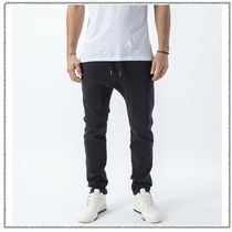 Ron Herman Tapered Pants Denim Street Style Plain Cotton Tapered Pants
