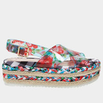 Betsey Johnson Other Plaid Patterns Flower Patterns Platform Casual Style