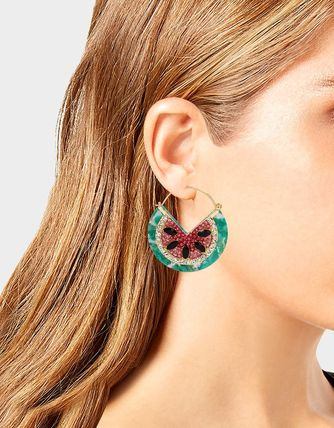 Casual Style Office Style Earrings