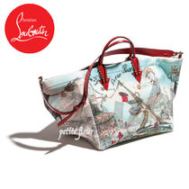 Christian Louboutin Casual Style A4 2WAY With Jewels Totes