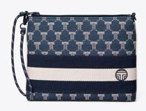 TORY SPORT Glen Patterns Other Plaid Patterns Casual Style Leather Logo