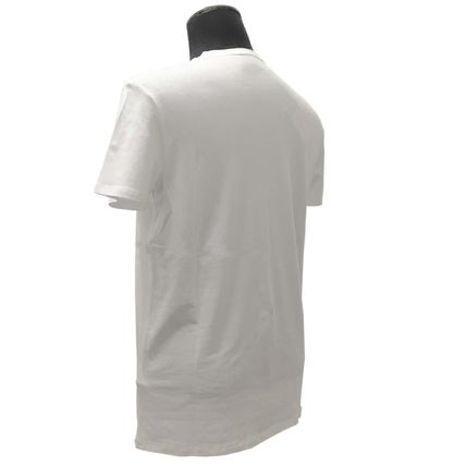 U-Neck Plain Short Sleeves T-Shirts