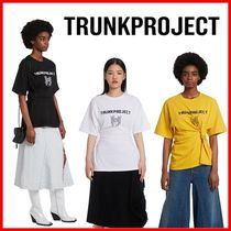 TRUNK PROJECT Unisex Street Style Cotton Short Sleeves Logo T-Shirts