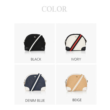Casual Style Street Style 2WAY Crossbody Logo Shoulder Bags