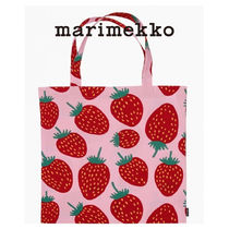 marimekko Flower Patterns Casual Style Street Style A4 Totes