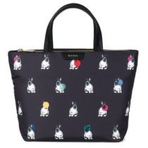 Paul Smith Casual Style Nylon Other Animal Patterns Leather