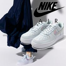Nike AIR FORCE 1 Casual Style Street Style Collaboration Plain Logo