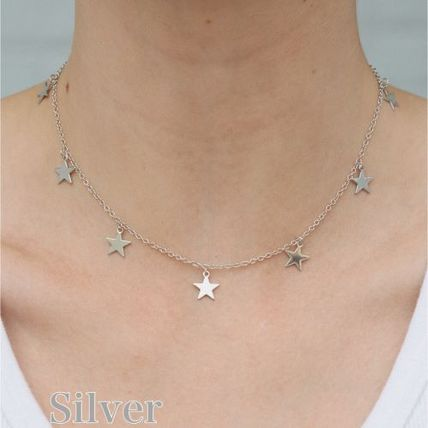 Star Casual Style Office Style Necklaces & Pendants