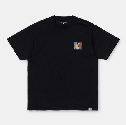 Carhartt Street Style Cotton Short Sleeves Logo T-Shirts