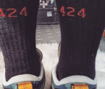 424 on Fairfax Street Style Collaboration Undershirts & Socks