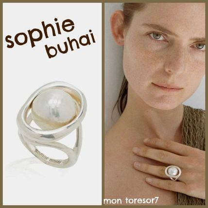 Casual Style Handmade Silver Elegant Style Rings